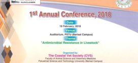 'Antimicrobial resistance in livestock' প্রতিপাদ্যে পবিপ্রবি তে কনফারেন্স