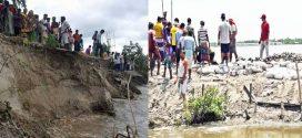 অব্যাহত নদী ভাঙ্গনে দুর্ভোগে কয়রাবাসী