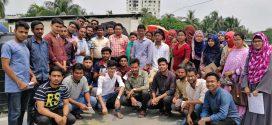 সিকৃবি শিক্ষার্থীদের 'নির্মল বায়ু পর্যবেক্ষণ কেন্দ্র' পরিদর্শন