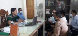 তালতলীতে ভূমি অফিস পরিদর্শনে ডিএলআরসি